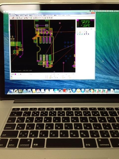 Windowsの業務用ソフト BoardDesigner(基板設計CAD)はOS X Maverricks上で動くか?